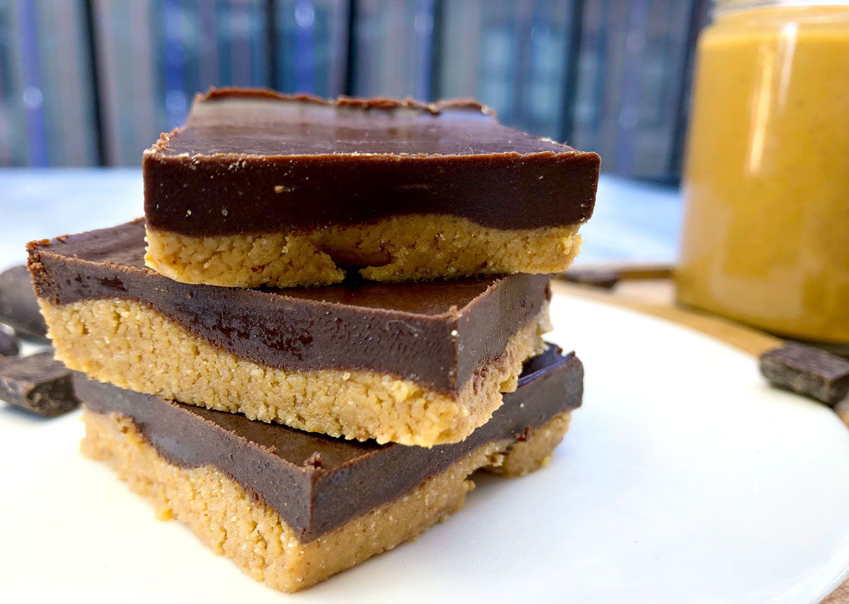Vegan & GF Peanut Butter Bars